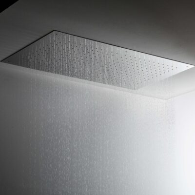 Ceiling flush mounted shower heads